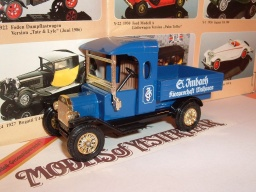 No Y 12 c, 1912, Ford Model T Van, 1985, limit. edice