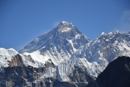 Mount Everest z Gokyo Ri