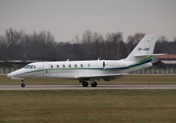 Cessna 680 Citation Sovereign OK-EMA (Travel Service)