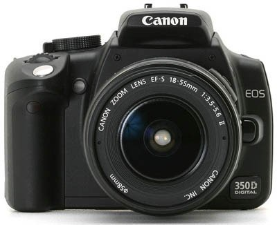 Canon EOS 350 D + EF 18-55 mm