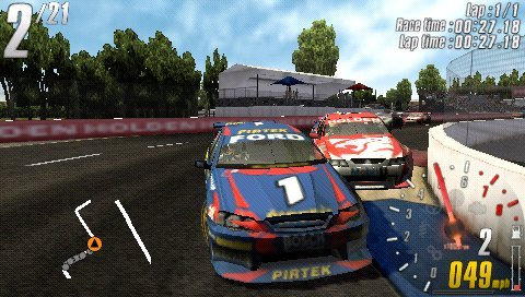 TOCA Race Driver 3 Challenge demo Psp