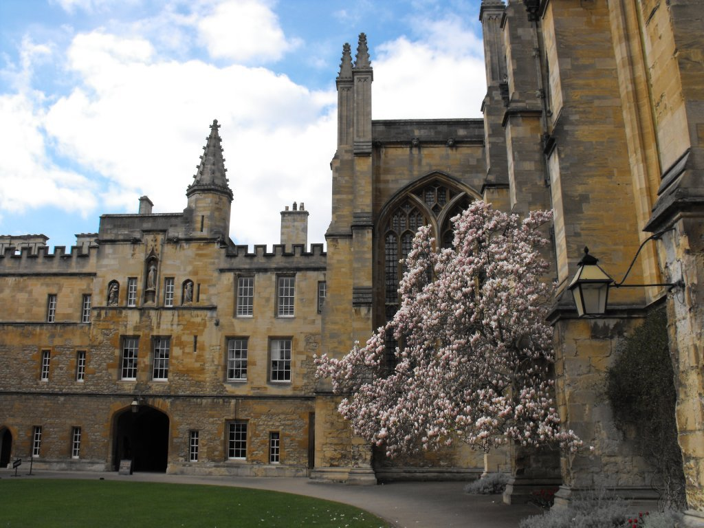 University Of Oxford New College Don 180 T Worry Be Happy