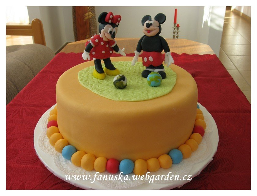 Micky Mouse + Minnie Mouse