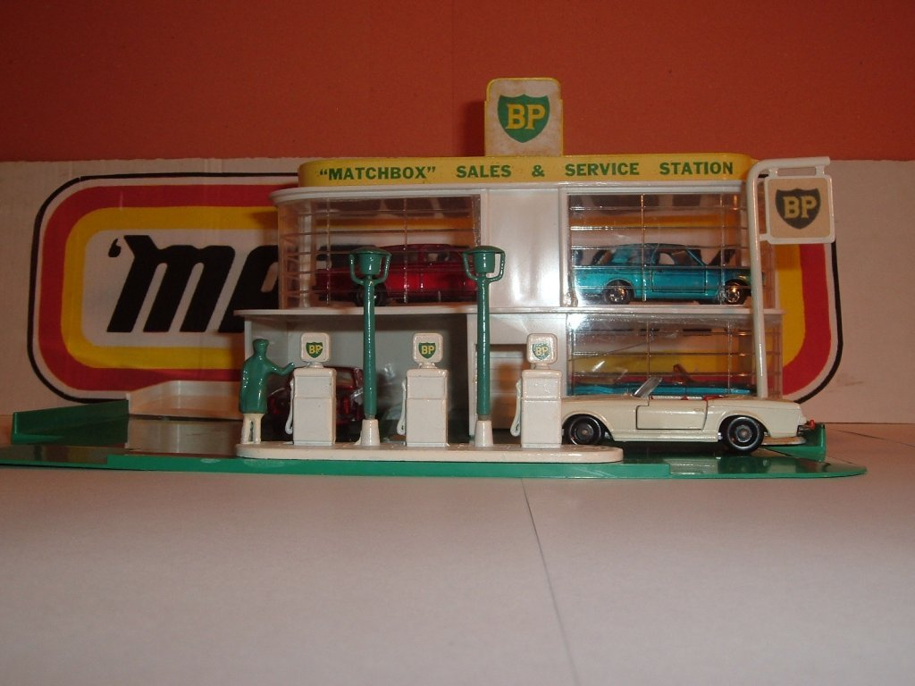 No A MG 1 b, Matchbox Two Story Garage, 1961