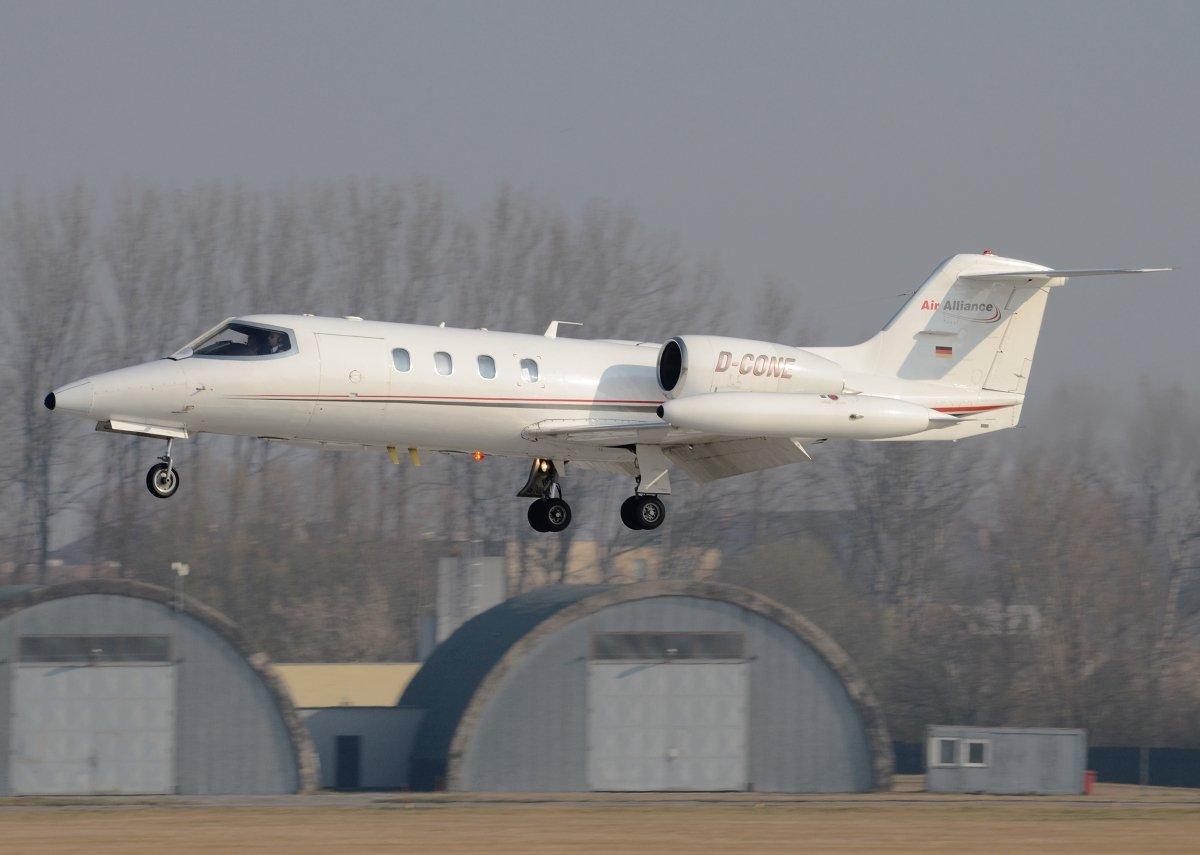 Learjet 35A Private D-CONE
