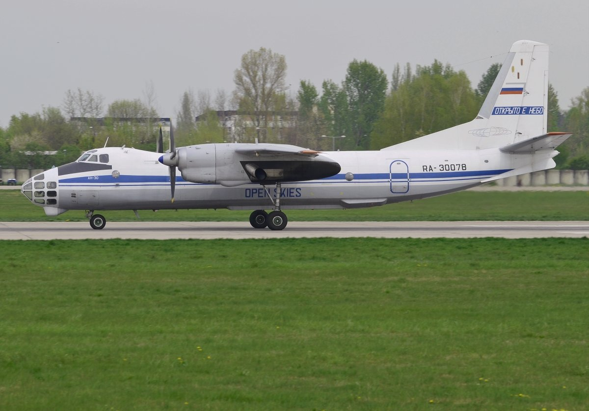 AN30RUSSIAN AIR FORCE RA-30078