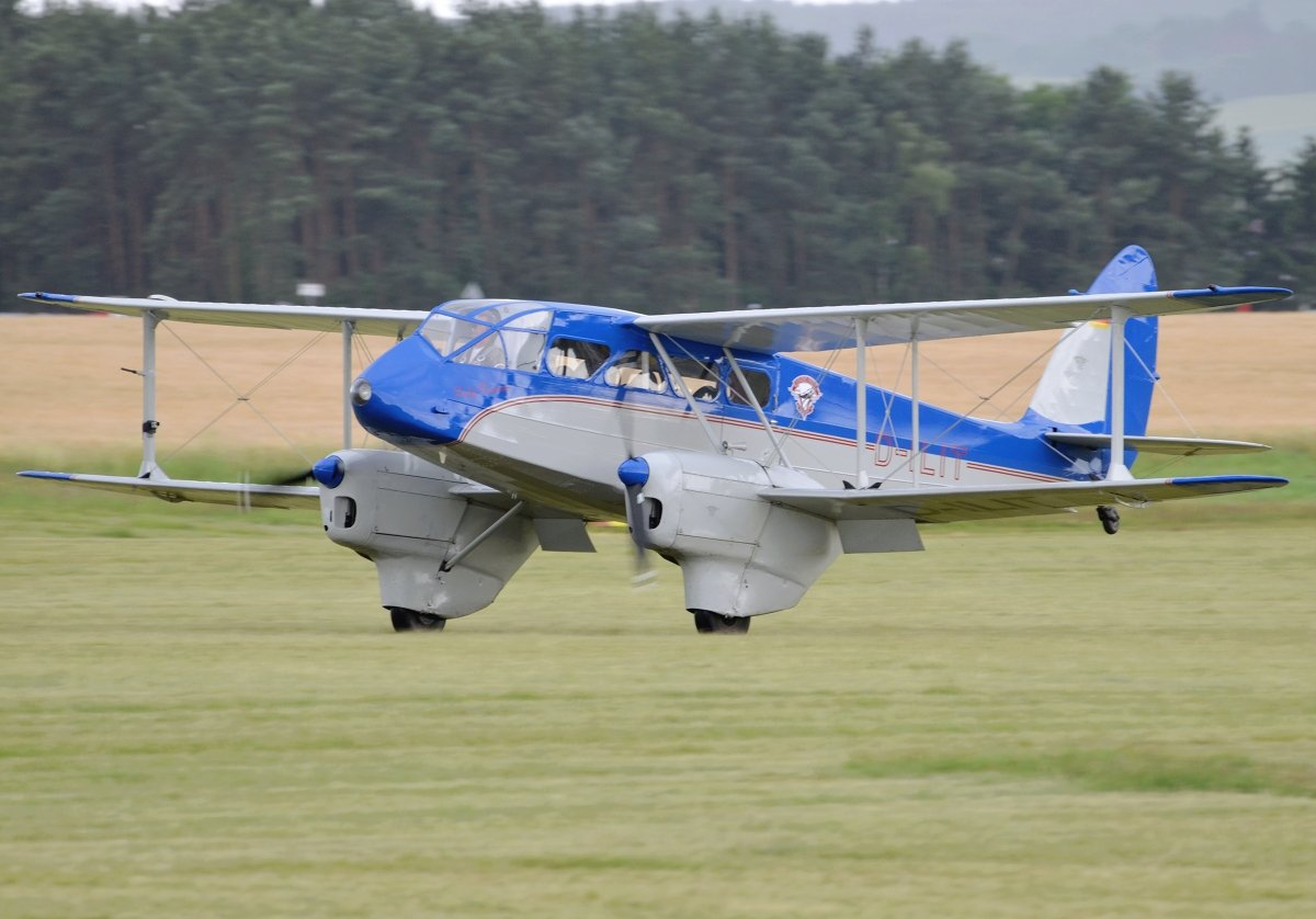 DH-89A Dragon Rapide PrivateD-ILIT