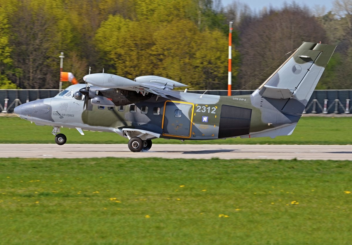 L410UVP-E CZECH AIR FORCE2312