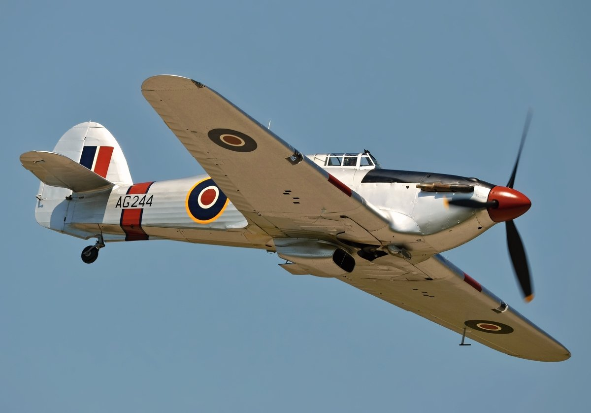 Hawker Hurricane 2B  Private  G-CBOE