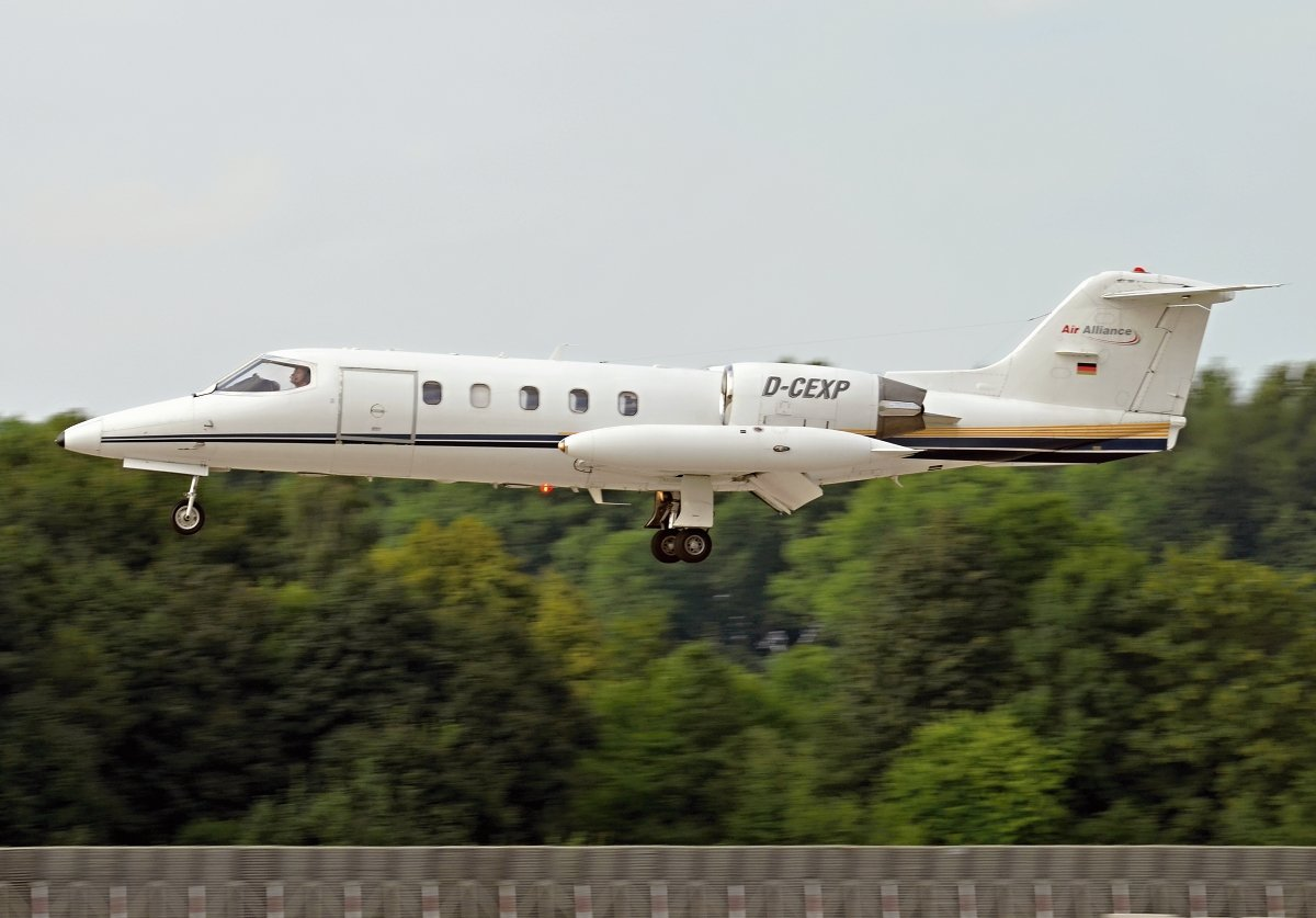 LEARJET 35 AIR ALLIANCED-CEXP
