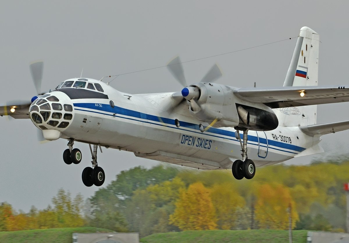 AN30B Russian Air Force  RA-30078