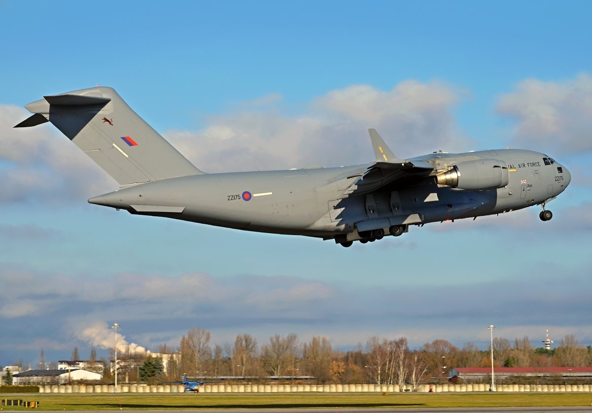 C17A Royal Air Force  ZZ175