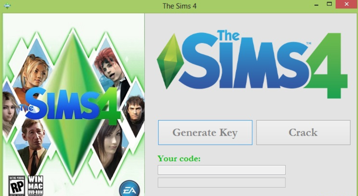 free activation key for sims 4
